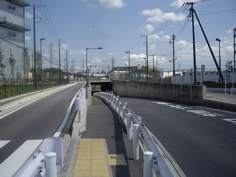 新三郷のトンネル - 埼玉県の心...